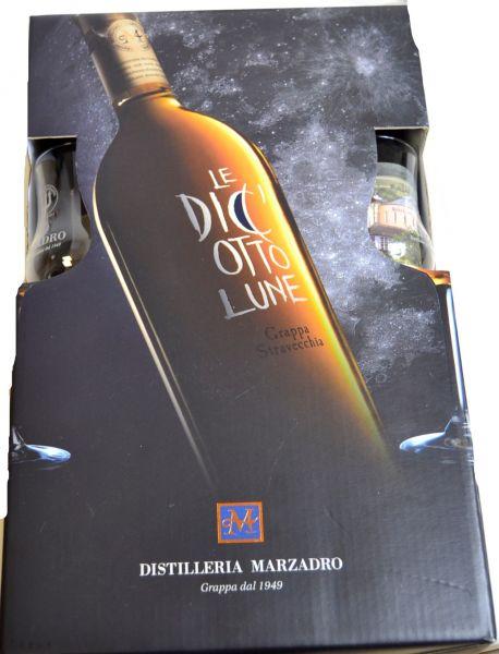 Geschenkset Dici Otto Lune 41% / Marzadro