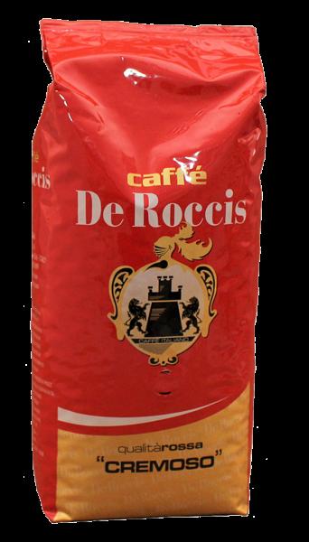 Caffe Cremoso 1 kg Beutel ganze Bohnen/ De Roccis