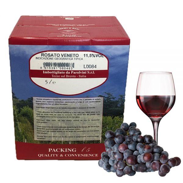 Rosato del Veneto IGT 5l Bag Box 11,5%/Parol Vini