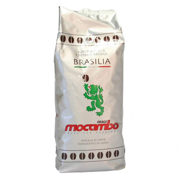 Caffe Brasilia Silber ganze Bohnen 1 Kg/Mocambo