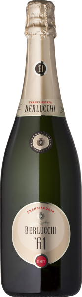 61 Franciacorta Brut DOCG 0,75l 12,5% / Berlucchi