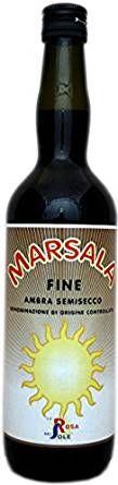 Marsala Fine Ambra Semisecco 17% 0,75l/La Rosa del Sole/Buonitalia