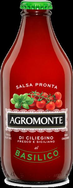 Tomatensoße aus Kirschtomaten mit Basilikum 330 g / Agromonte