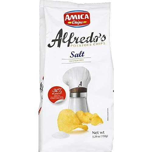 Chips Alfredo´s gesalzen 150 g -Glutenfrei/AMICA