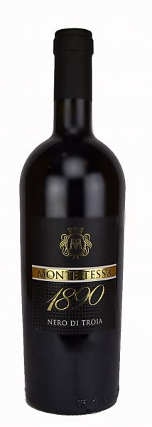 Nero di Troia 1890 0,75l 15% - 2016 / Monte Tessa