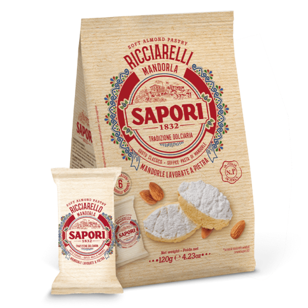 Ricciarelli Mandel 120g / Sapori