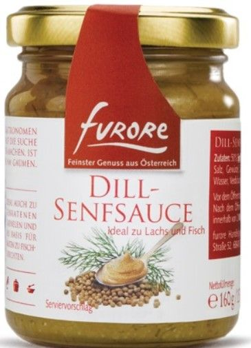 Dill-Senfsauce 160g/Furore