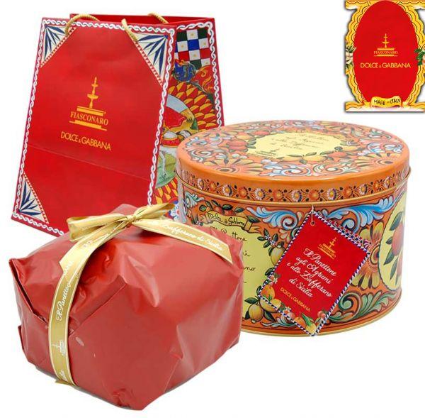 Panettone agli Agrumi 1 Kg Dolce & Gabbana Limited Edition /Fiasconaro