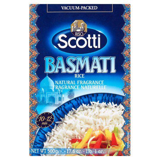 Riso Basmati Rice 500 g/ Scotti