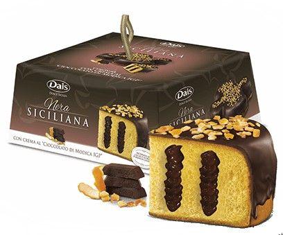 Colomba con crema al Cioccolato di Modica IGP 900g /Dais
