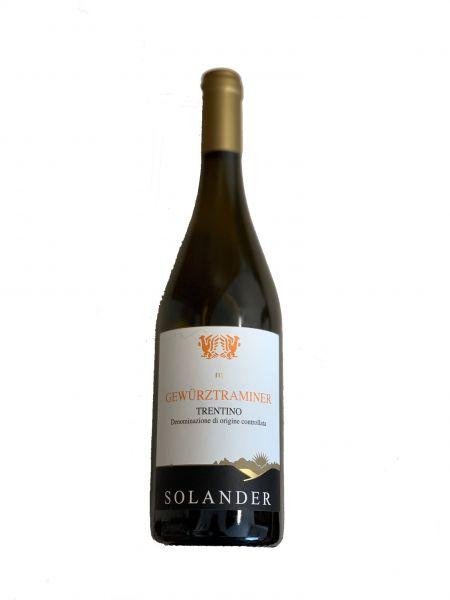 Gewürztraminer 0,75 l 13,5 % alc 2018 Solander