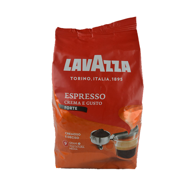 Caffe Crema e Gusto Forte ganze 1 Kg/Lavazza