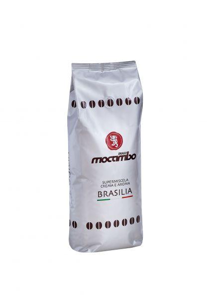 Caffe Brasilia Silber ganze Bohnen 250g/Mocambo