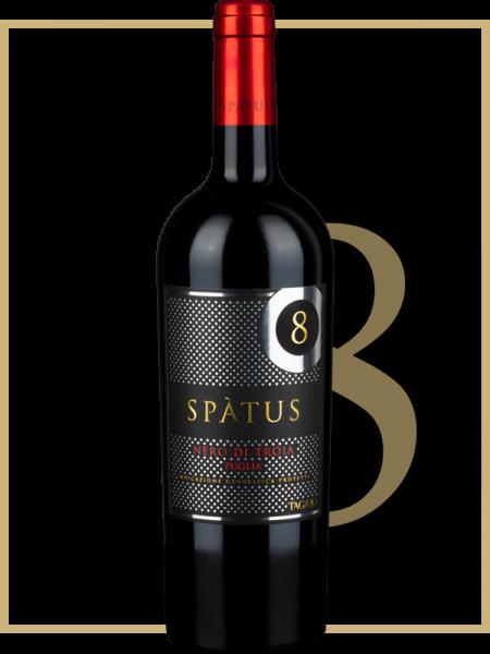 Nero di Troia Puglia IGP Spatus 8 0,75l 15% 2016 / Tagaro