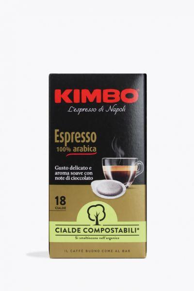 Espresso 100% Arabica E.S.E 18 Cialde / Kimbo