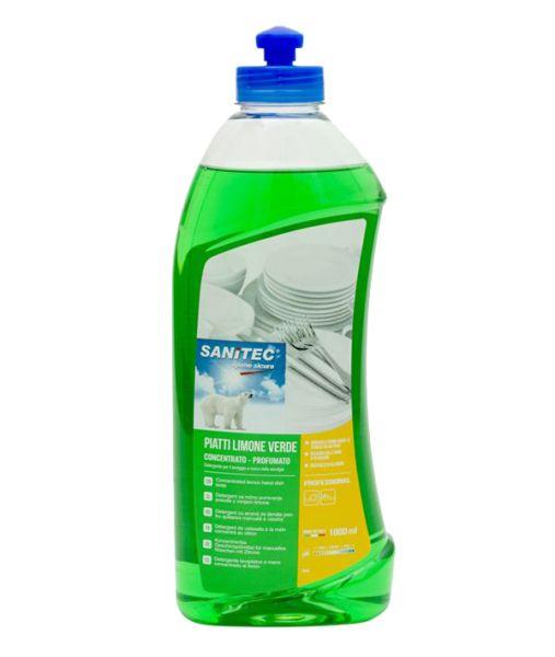 Geschirrspühlmittel Zitrone 1 Liter/ Sanitec