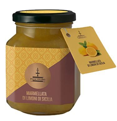 Marmelade mit Zitrone 360 g/ Fiasconaro