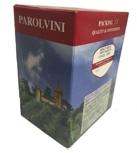 Merlot del Veneto IGT 5l Bag Box 11,5%/Parol Vini