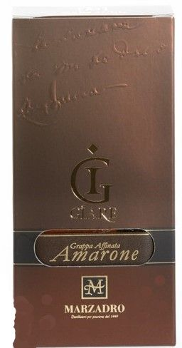 Grappa Amarone 20 cl 41% vol/Marzadro