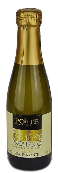 Prosecco vino frizzante 10,5% 200 ml /Ponte
