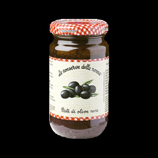 Pate di olive nere 190gr./Le Conserve della Nonna