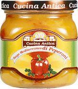 Sugo Mediterraneo di Peperoni Soße 200g / Cucina Antica