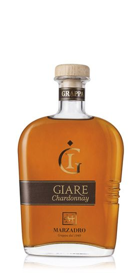 Grappa Giare Chardonnay 20cl 45% / Marzadro