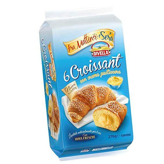 Vanillecreme Croissant 270 g / Divella