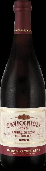 Lambrusco Rosso 0,75l 7,5% / Cavicchioli