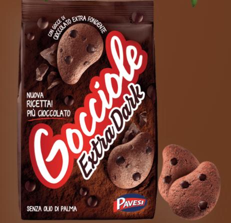 Gocciole Kekse extra dark 400 g / Pavesi