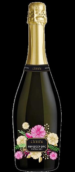 Prosecco Extra Dry 0,75l 11% alc. Villa Loren