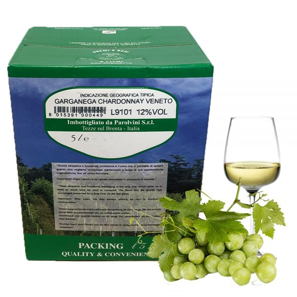 Chardonnay Garganega Veneto IGT 5l Bag Box 12%/Parol Vini