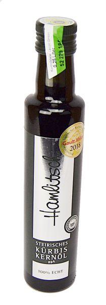 Kürbiskern Öl 250 ml Hamlitsch