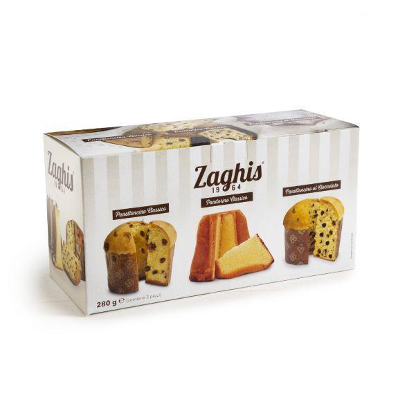Geschenkbox Weihnachtsgebäck 3 Stück 280g / Zaghis