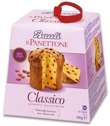 Il Panettone classico mit Rosinen 100g/Bauli