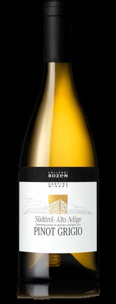 Pinot Grigio Südtirol Alto Adige DOC 2019 13,5% 0,75l / Kellerei Bozen