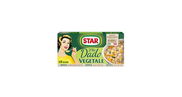 Dado Vegetale Brühwürfel Gemüse / Star