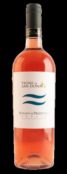 Primitivo Rosé Puglia IGP 12,5% 0,75l - 2019 / Vente Di San Donaci