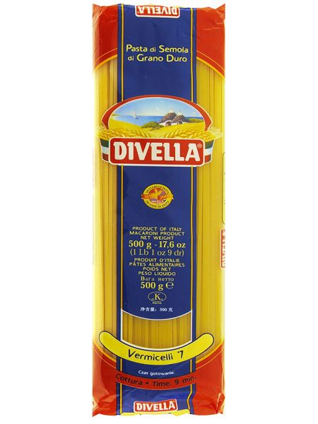Vermicelli Nr.7 500g in Beutel / Divella