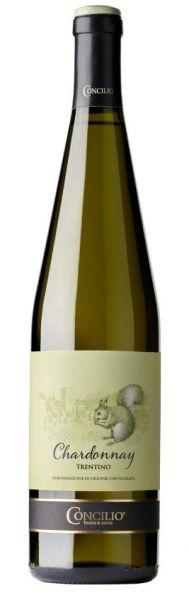 Chardonnay Trentino 0,75 l 2017 13% Alc. /Concilio