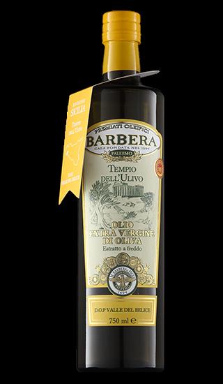 Olio extra Vergine di Oliva Tempio dell´Ulivo DOP Olivenöl 0,75l / Barbera