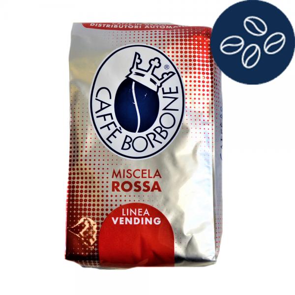 Caffe Borbone Miscela Rossa Kaffee 1 Kg ganze Bohnen