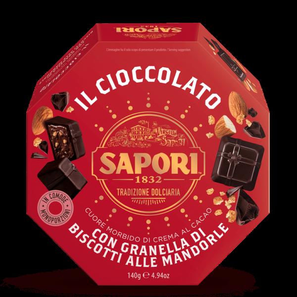 Praline Granella di Biscotti alle Mandorle 140g / Sapori