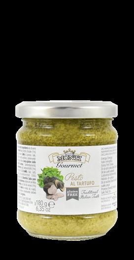 Pesto mit Basilikum & Trüffel 180g/Monti Gourmet