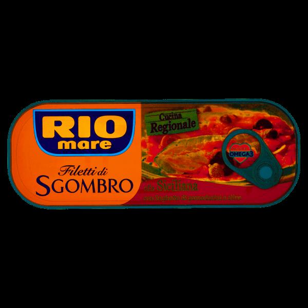 Filetti di Sgombro alla Siciliana Rio Mare 120g
