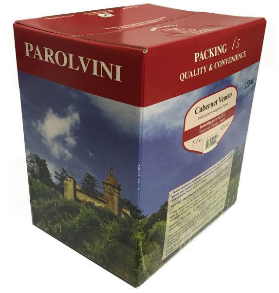 Cabernet del Veneto IGT 5l Bag Box 12 %/Parol Vini