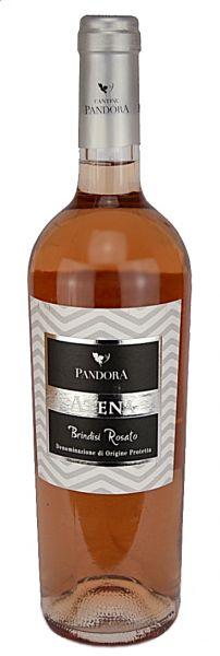Brindisi Rosato Atena 2017 13 % 0,75 Liter / Cantine Pandora