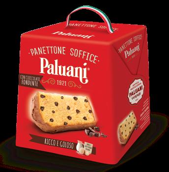 Panettone con Gocce di Cioccolato Fondente 750 g/ Paluani