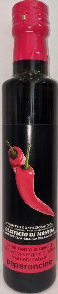 Condimento al peperoncino Olivenöl 0,25l / Oleificio di Moniga del Garda