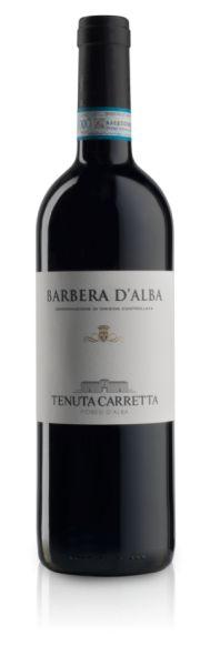 Barbera d Alba DOC 0,75l 14% - 2016 / Tenuta Carretta